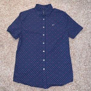 vineyard vines boys button-down short sleeve shirt